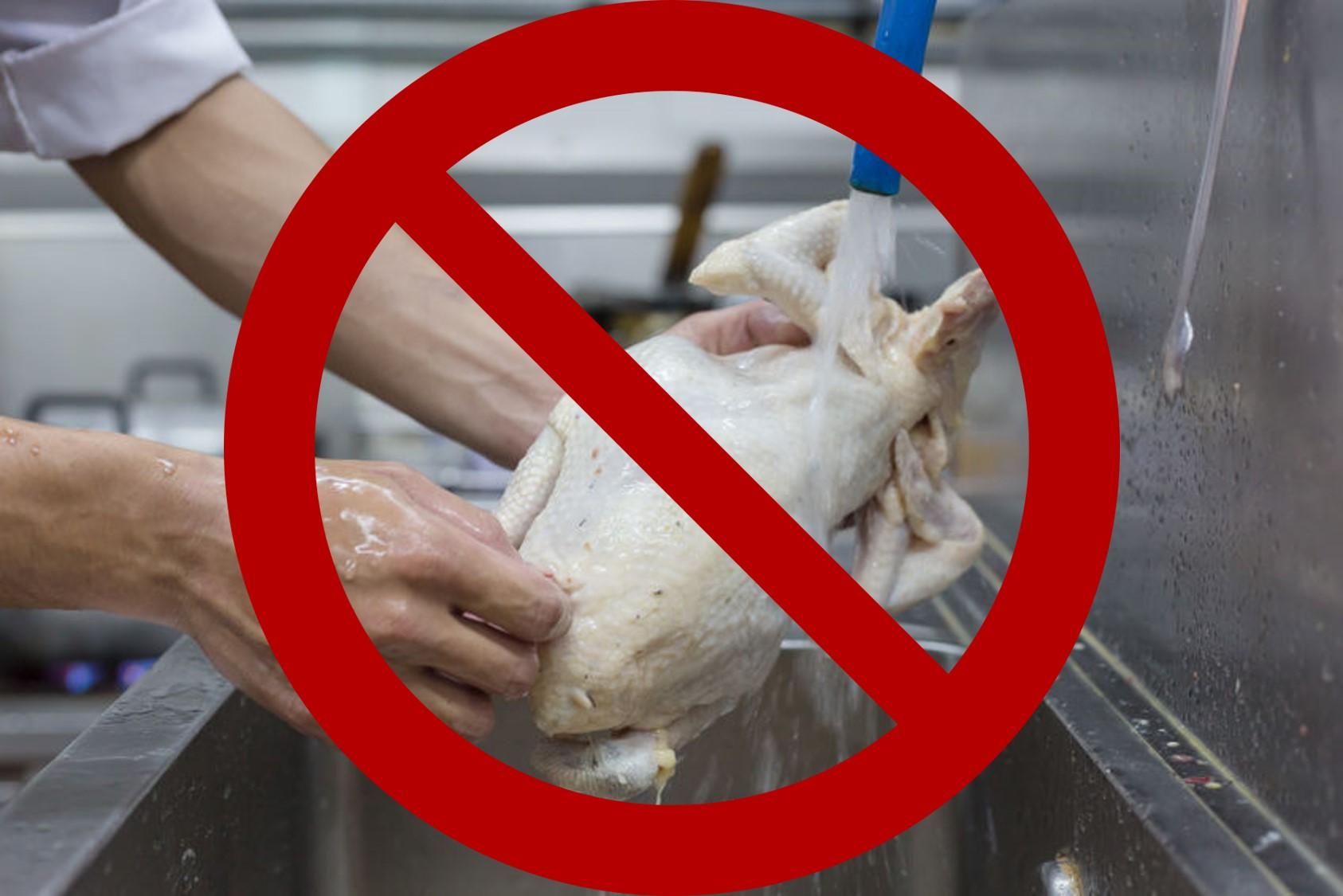 ServSafe food training for raw chicken