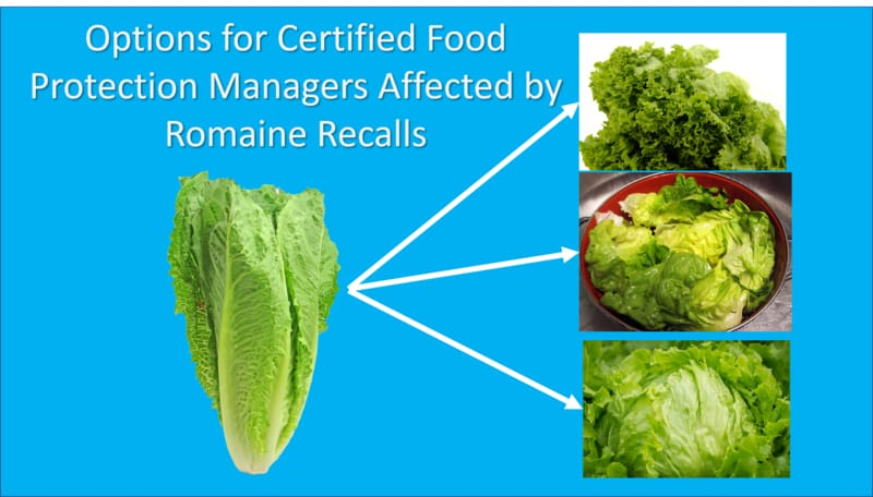 Recall Effects Certified Food Protection Managers